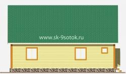 Дом 10х10 метра «Келли»