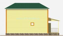 Дом 9х10 метра «Богатырь»