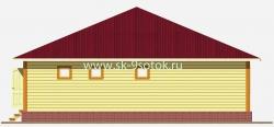Дом 10х10 метра «Вест»