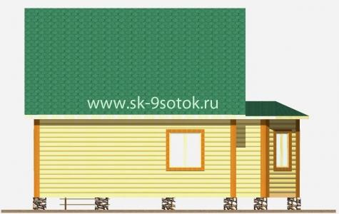 """Дом 6х8 с эркером """"Восток"""""""