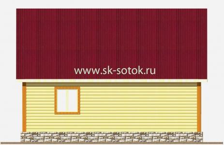 Дом 6х8 метра «Лубянка»